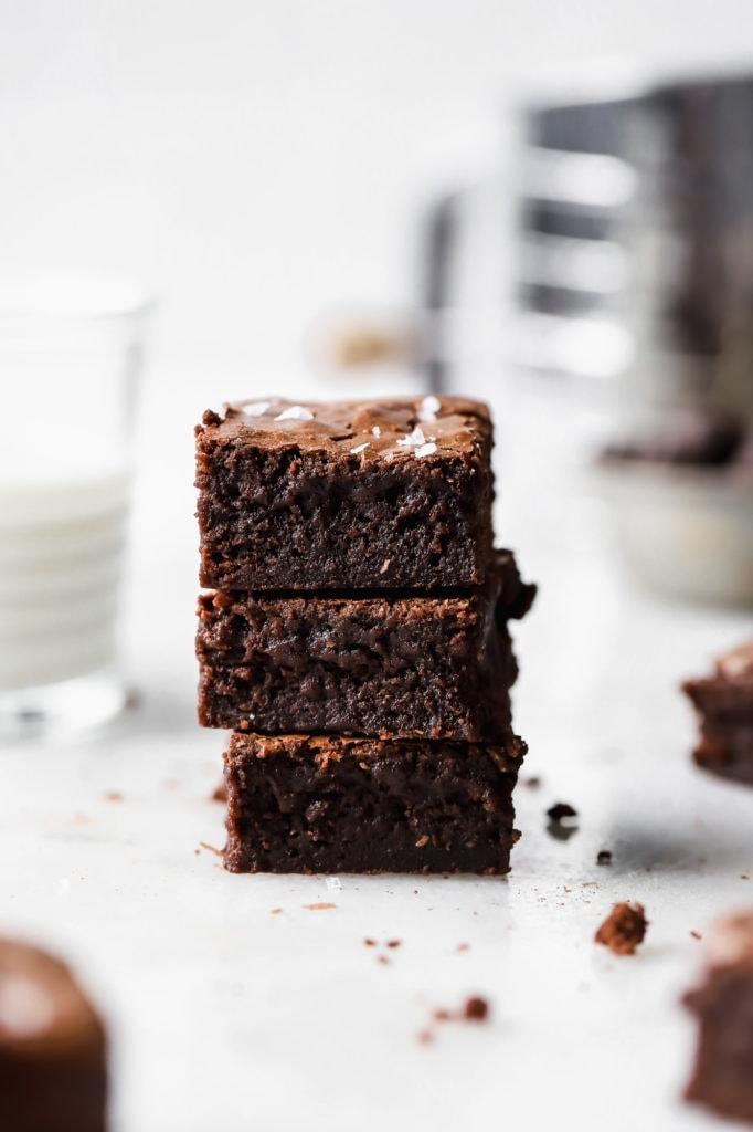 the perfect fudge brownies